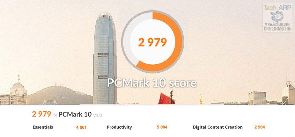 Lenovo ThinkPad X1 Extreme PCMark10 battery power