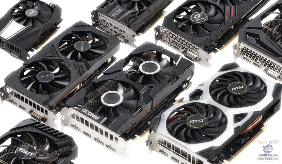 The First NVIDIA GeForce GTX 1660 Ti Graphics Cards!