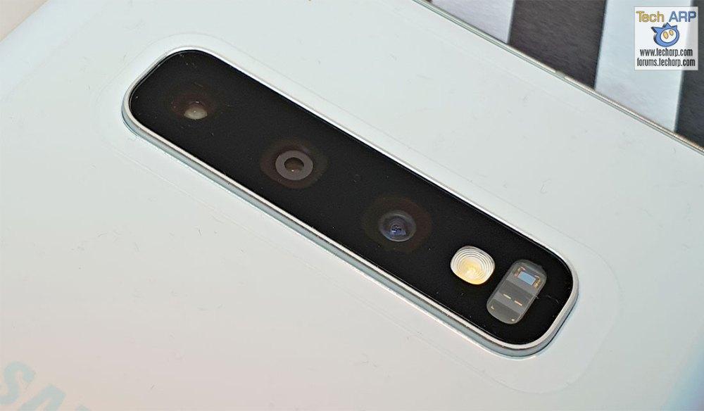 Samsung Galaxy S10 Plus rear cameras