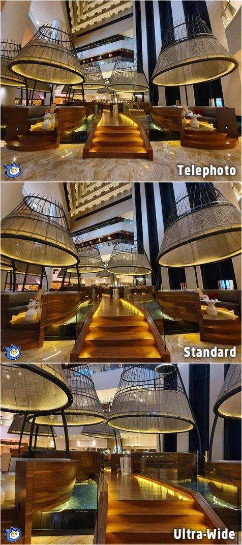 Samsung Galaxy S10 Plus zoom comparison