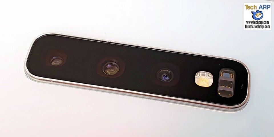 Samsung Galaxy S10 rear camera