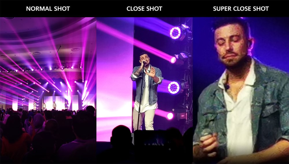 HUAWEI P30 Camera Preview : Close Shots Of Blue Concert!