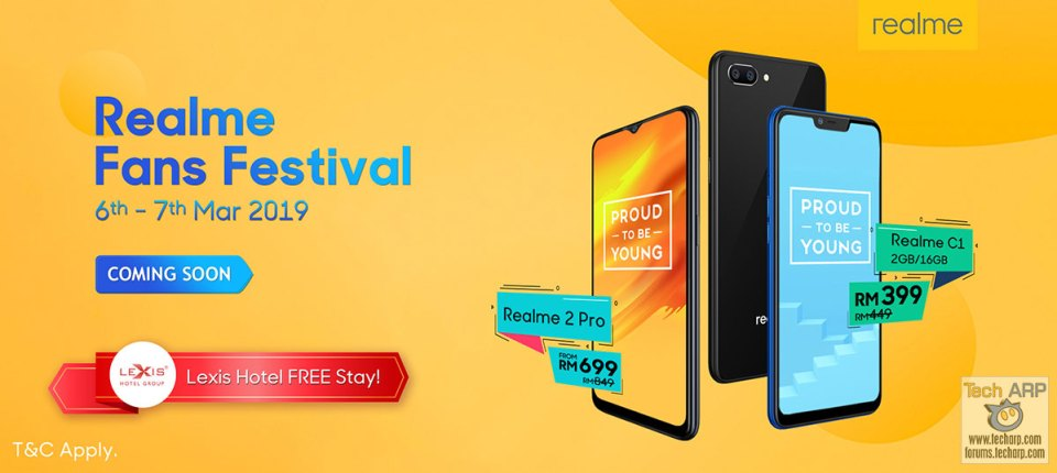 Realme Fans Festival Deals with Shopee + Lexis Hotel Group!