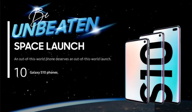 Samsung Galaxy S10 Space Launch + Contest Revealed!