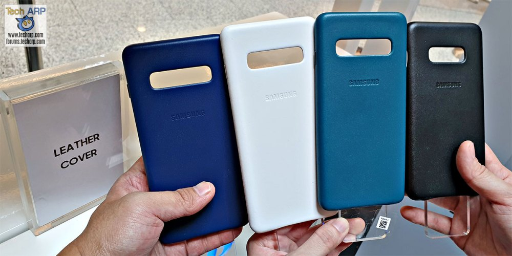 Samsung Galaxy S10 Leather Cover