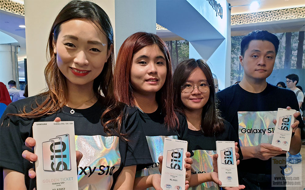 The Samsung Galaxy S10 Roadshow @ Mid Valley Megamall!