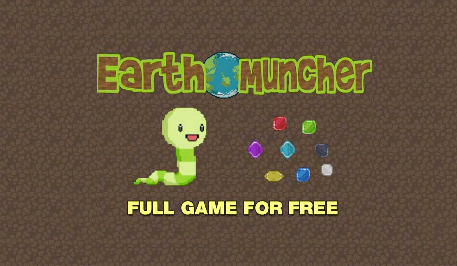 Earth Muncher Is FREE For A Limited Time