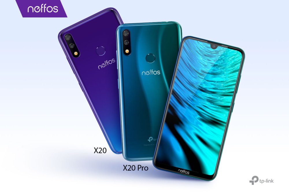 Neffos X20 and X20 Pro