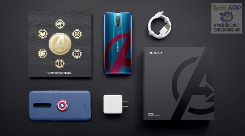 OPPO F11 Pro Avengers Edition unboxed