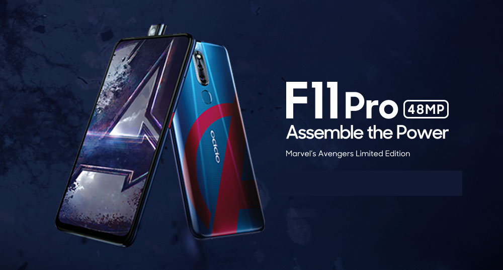 OPPO F11 Pro Avengers Edition - More Storage, Higher Price!