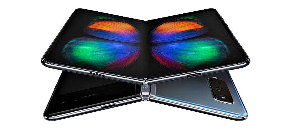 Samsung Galaxy Fold butterfly