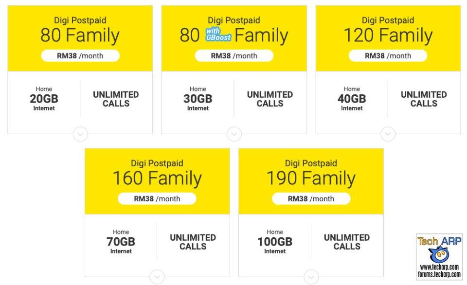 The 2019 Digi Postpaid Family Plans Revealed!