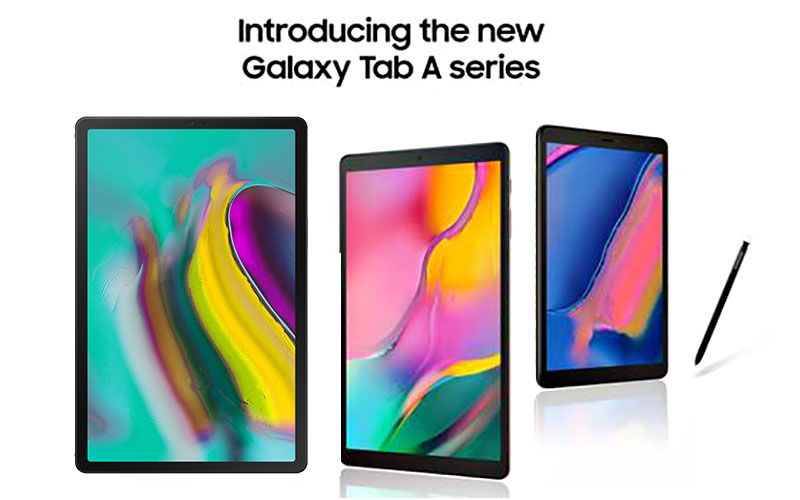 The Three New 2019 Samsung Galaxy Tab A Tablets Revealed!