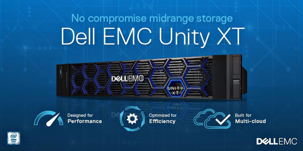 2019 Dell Unity XT unified storage