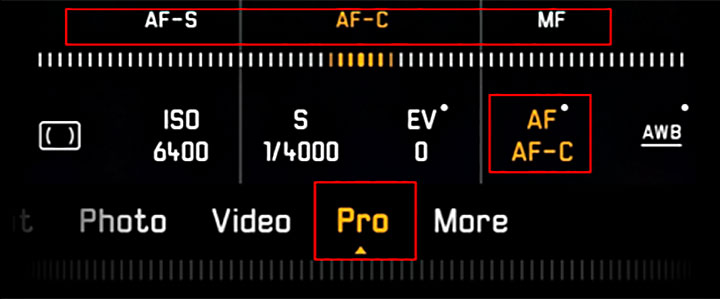 HUAWEI P30 Pro Mode autofocus