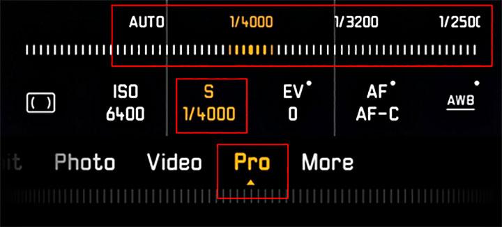 HUAWEI P30 Pro Mode shutter speed