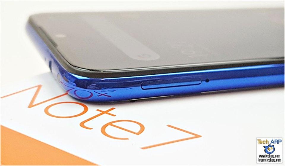 Xiaomi Redmi Note 7 left side
