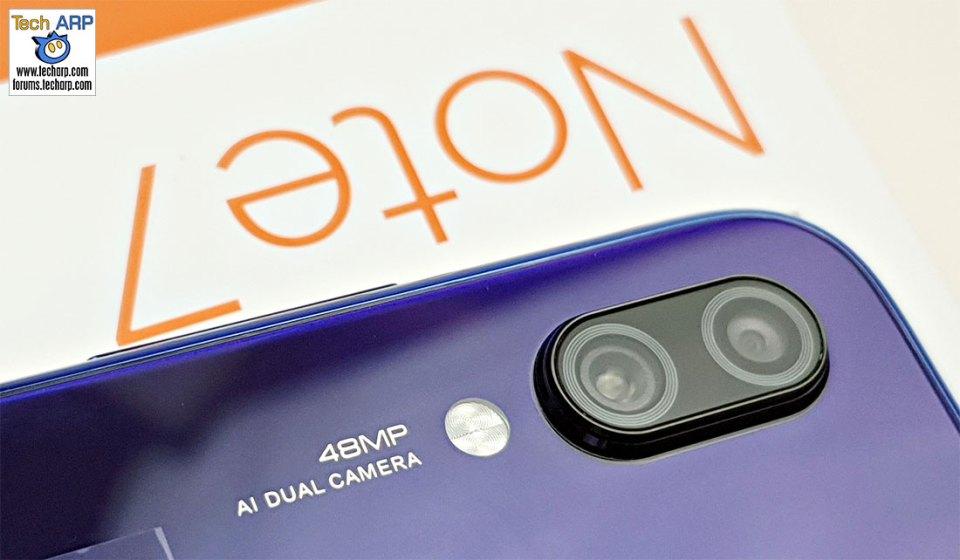 Xiaomi Redmi Note 7 main camera