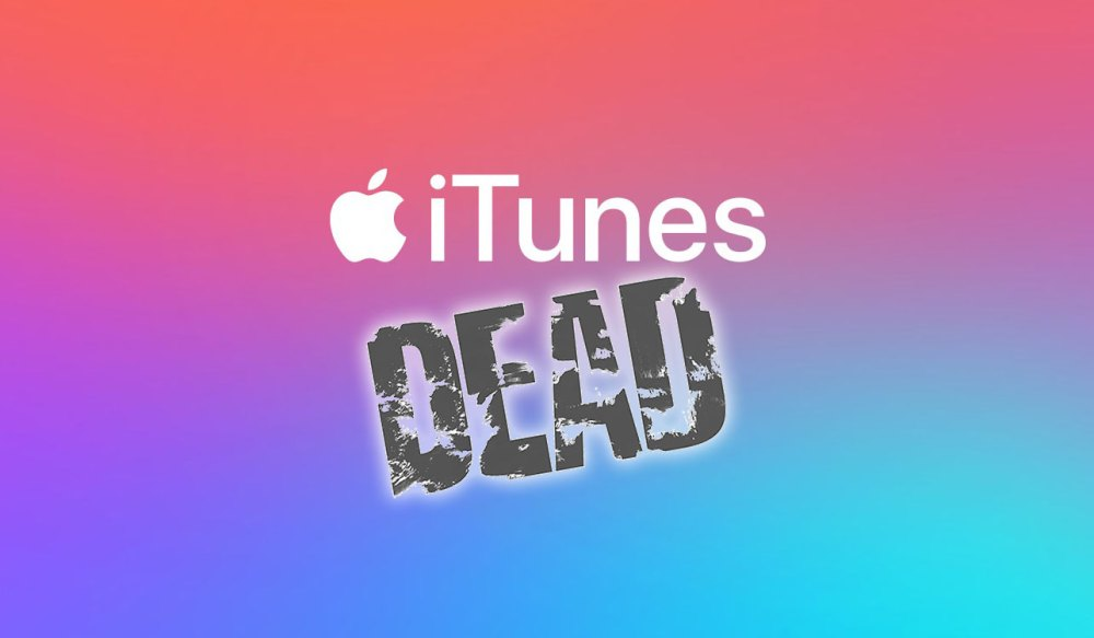 Apple Is Finally Killing iTunes... Good Riddance To Bad Rubbish!