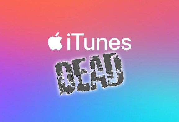 Apple Finally Kills iTunes... Good Riddance To Bad Rubbish!