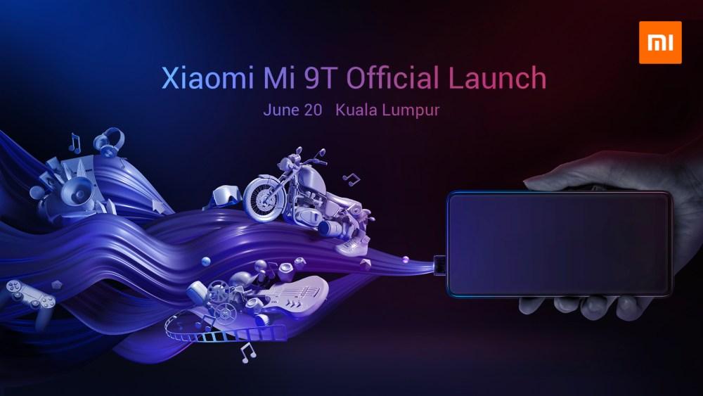 Mi 9T Launch Invitation