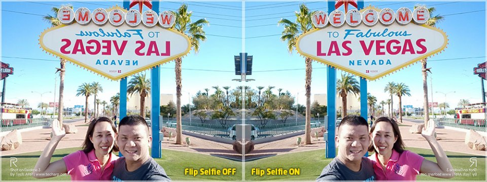 Realme 3 Las Vegas Flip Selfie