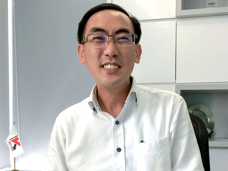 Yeo Siang Tiong - Kaspersky SEA General Manager