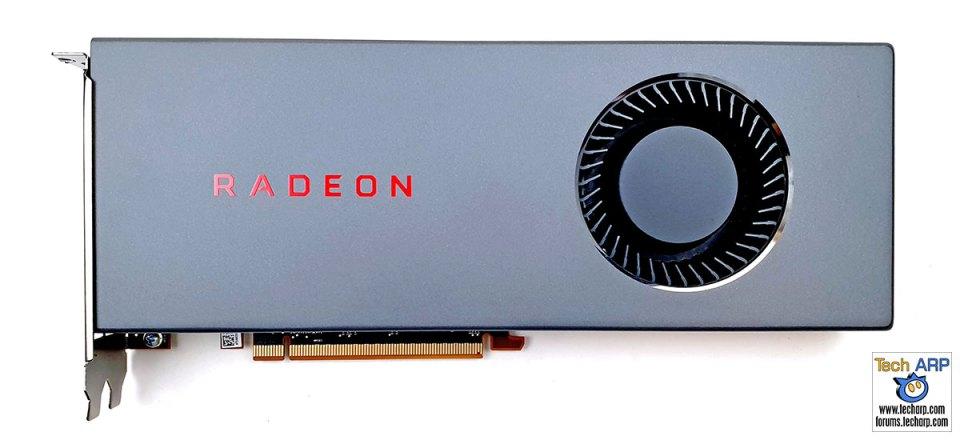 AMD Radeon RX 5700 front