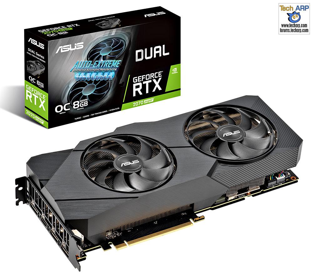 ASUS DUAL RTX 2070 Super EVO graphics card