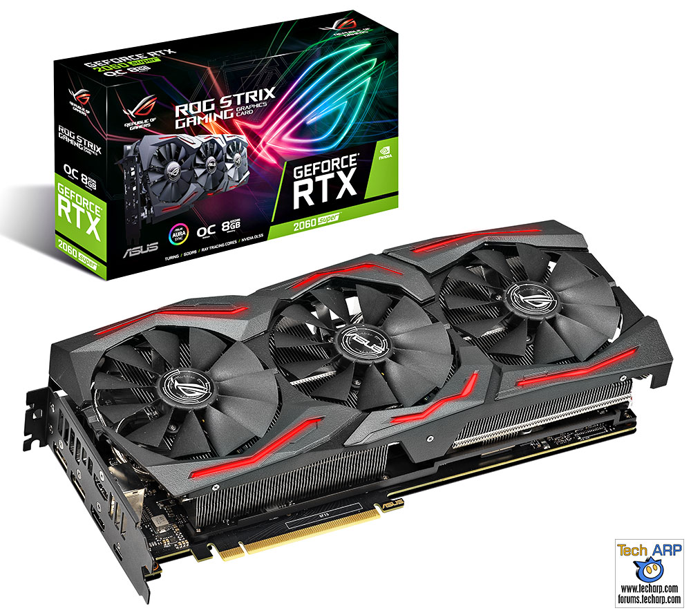 ASUS ROG Strix RTX 2060 Super Gaming graphics card