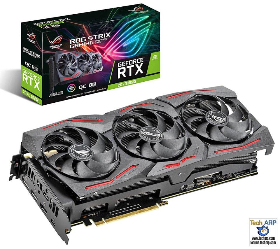 ASUS ROG Strix RTX 2070 Super graphics card