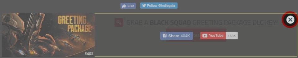Black Squad free IndieGala close