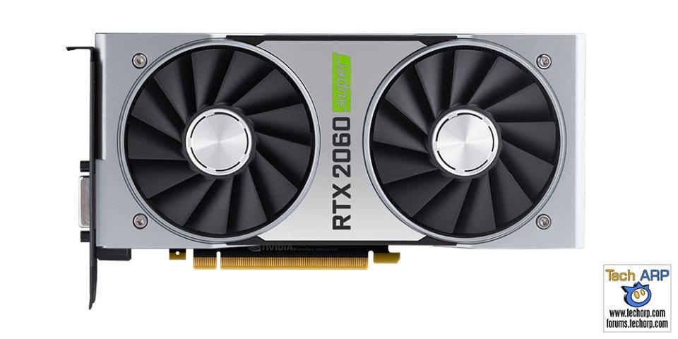 NVIDIA GeForce RTX 2060 SUPER comparison front