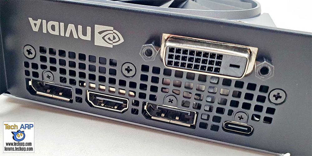 NVIDIA GeForce RTX 2060 SUPER ports