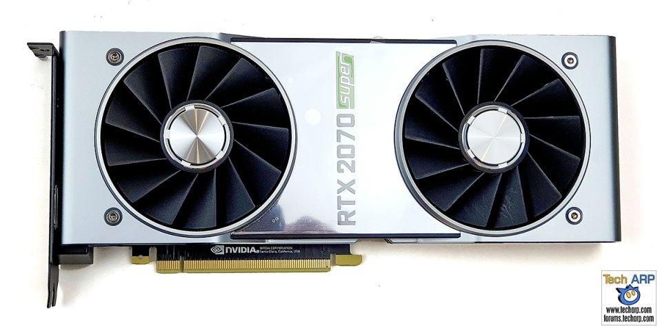NVIDIA GeForce RTX 2070 SUPER card front