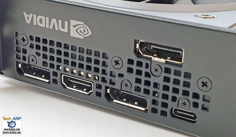 NVIDIA GeForce RTX 2070 SUPER display ports