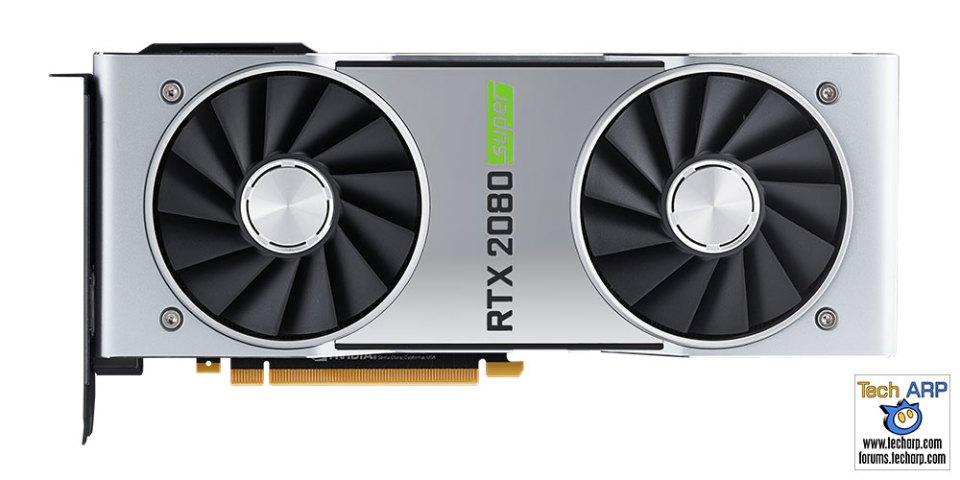 NVIDIA GeForce RTX 2080 SUPER comparison front