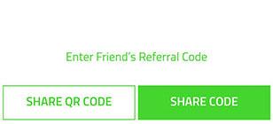 Razer Pay Share Code