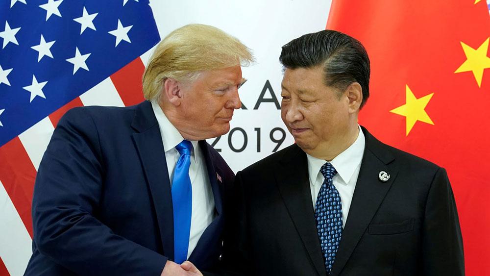 Xi Jinping Donald Trump Osaka 2019