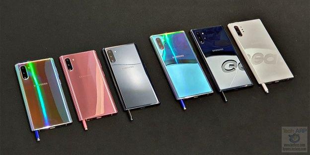 Samsung Galaxy Note 10 | Note 10+ Colour Comparisons!
