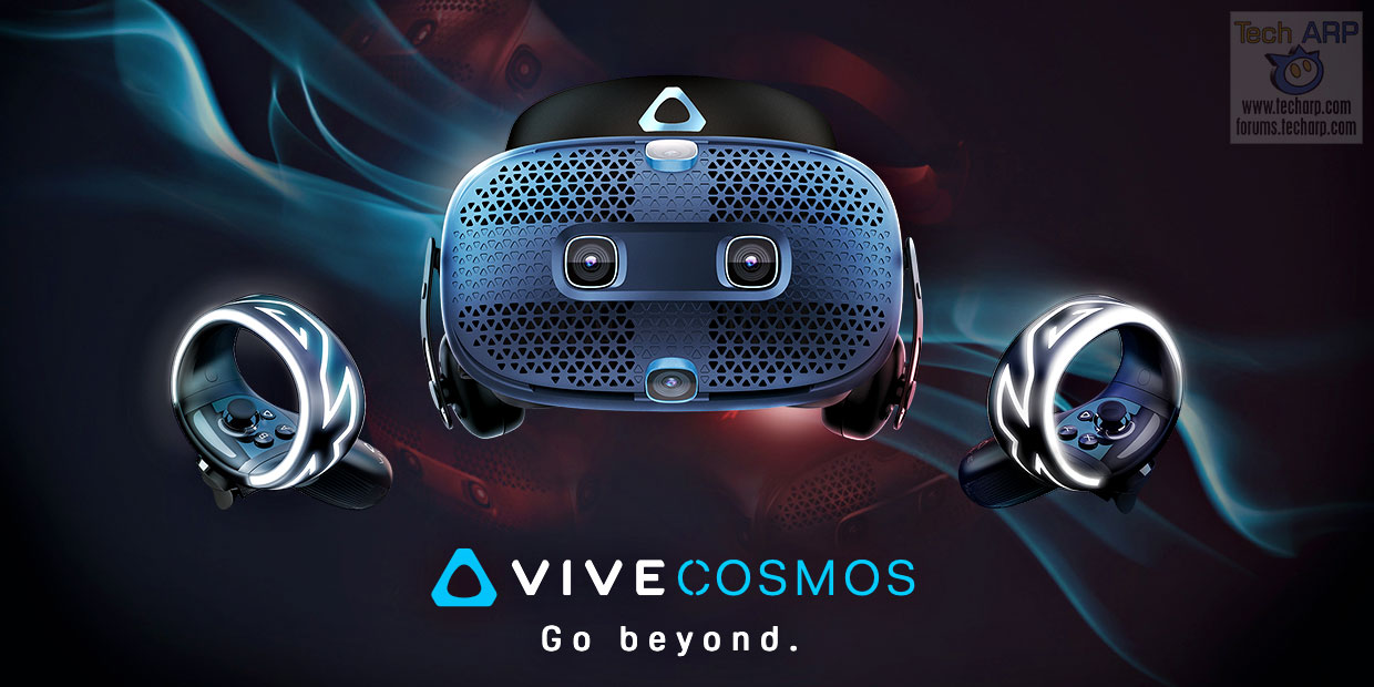 HTC VIVE Cosmos – How To Get Your VR Fix This October!