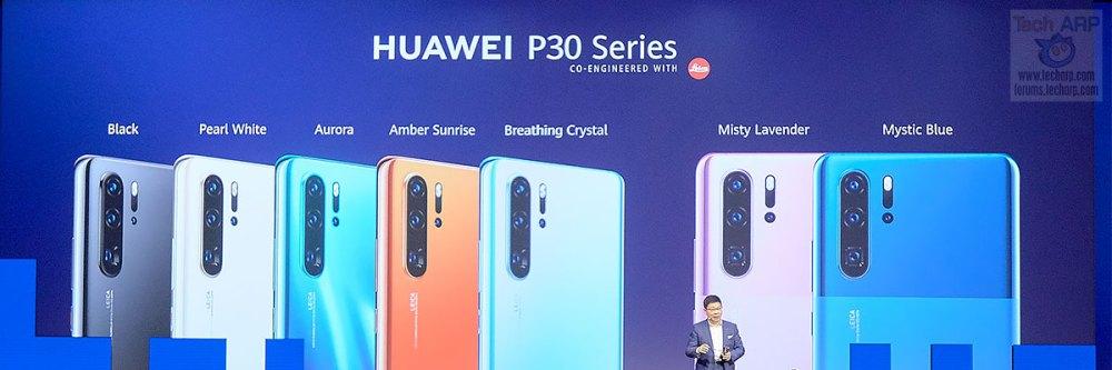 HUAWEI P30 Pro IFA 2019 colours