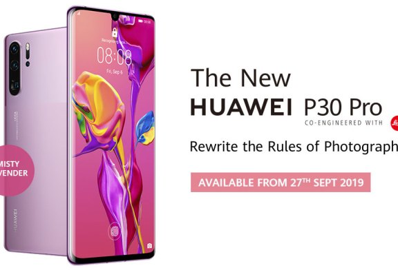 New HUAWEI P30 Pro Misty Lavender Available NOW!
