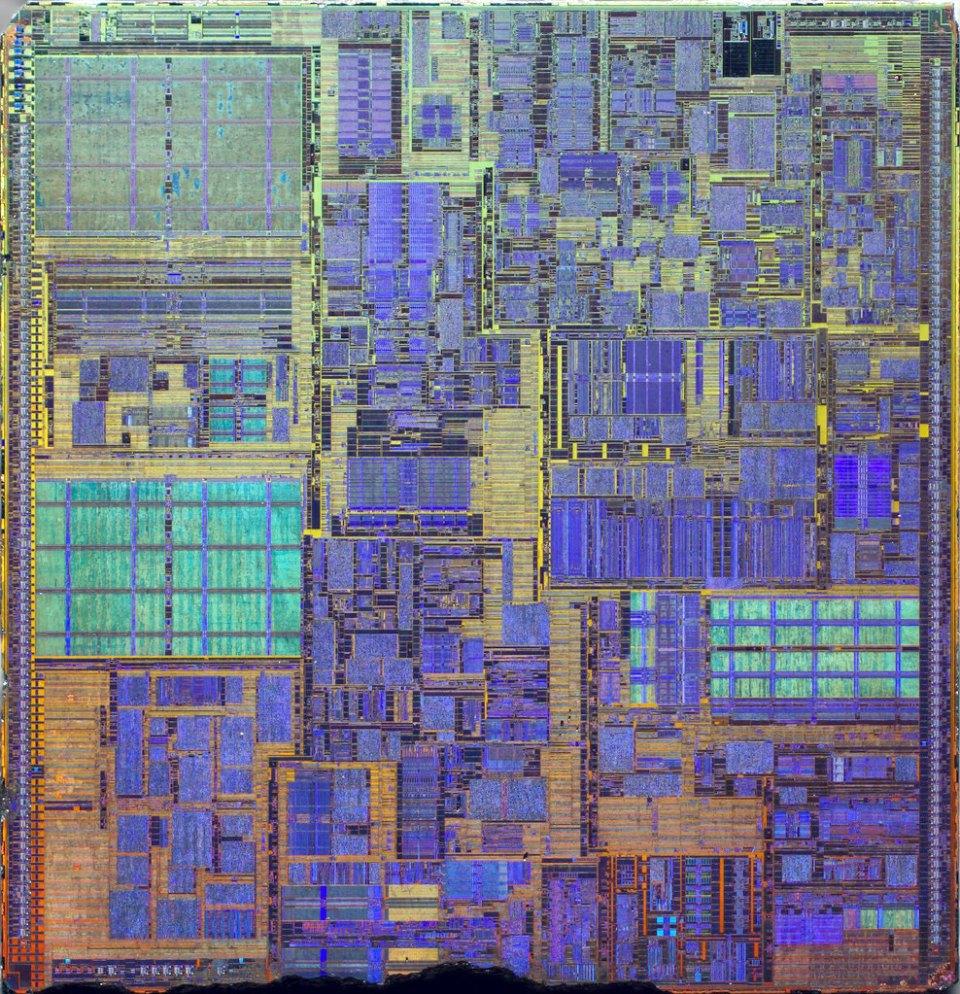 Intel Pentium 4 die