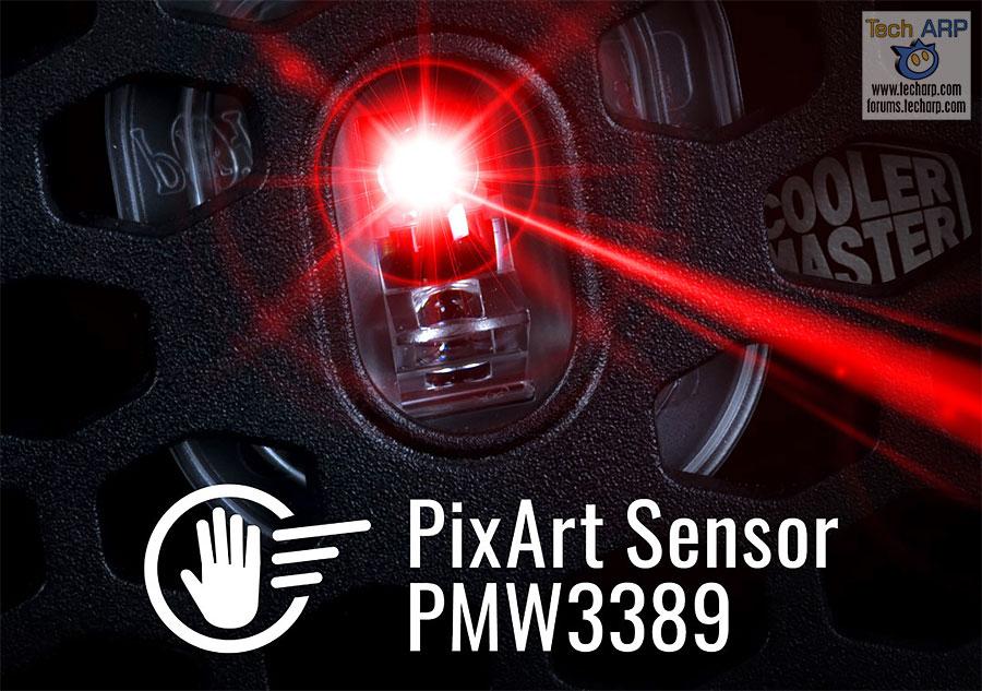 PixArt PMW3389 sensor