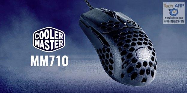 Cooler Master MM710 Honeycomb Mouse Revealed!