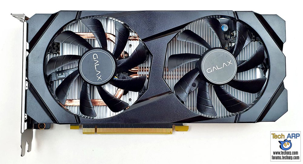 GALAX GeForce GTX 1660 SUPER card front