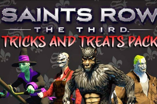 Saints Row : The Third - Tricks And Treats Pack Is FREE!