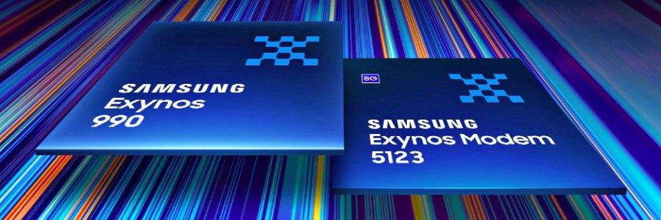 Samsung Exynos 990 + Exynos Modem 5123