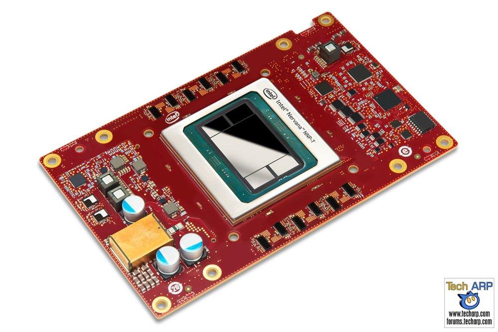 Intel Nervana NNP-T1000 Mezzanine card